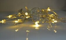5 Metres of 50 LED Fairy Lights Battery Operated Home Lighting Decorations