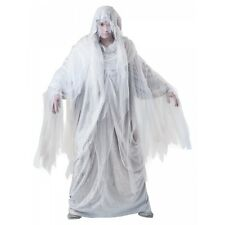 Ghost Costume Adult Mens Scary Halloween Fancy Dress