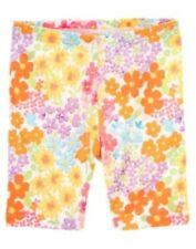 GYMBOREE BUTTERFLY BLOSSOMS WHITE FLORAL BIKE SHORTS 4 5 6 7 10 NWT