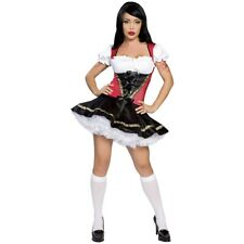 Beer Girl German Dirndl Maiden Costume Oktoberfest Fancy Dress