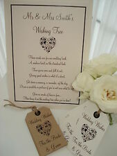 Wish Tree Sign/Poem -  2 styles available
