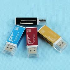Mini 4 in 1 USB 2.0 Card Reader Multi Memory for M2 SD MMC Micro SD TF MS Duo