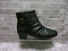 Rieker Kendra Ladies Black Casual Ankle Boots