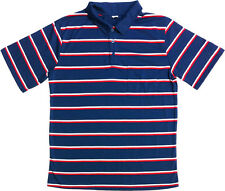 Troy Landry Swamp people lucky striped blue red polo shirt Halloween costume