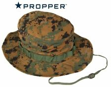 Digital Woodland Camouflage Boonie Hat 65/35 Ripstop Propper
