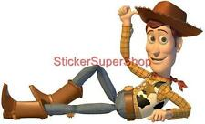 Choose Size - WOODY CHILLIN' Toy Story Decal Removable WALL STICKER Decor