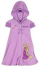 Disney Store Rapunzel Tangled Hooded Pool Towel Cover-Up Dress Swim Terry Cloth