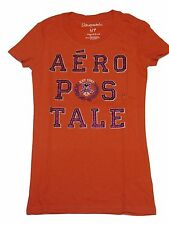 AEROPOSTALE WOMENS T-SHIRT ORANGE SIZE  S,M, 59581019 3-2