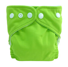 Charlie Banana 2 in 1 Eco-Friendly Hybrid Reusable Cloth Diaper X-Small Solids