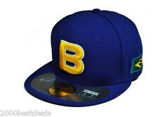 NEW ERA 59FIFTY WBC BRAZIL WORLD BONE DE BAISEBOL CLASSIC 2013 SEASON BIG SIZE