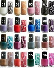 Nagellack Crack Crackle Lack Crackling Graffiti Nail Art Nagellack polish Sets