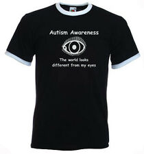 101a. Autism Adults T-shirts - The world looks different from my eyes