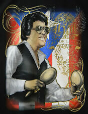 PUERTO RICO RICAN T-SHIRTS HECTOR LAVOE PLAYING MARACAS