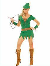 Devious Archer Costume Dress Hat Bow and Arrows Robin Hood Archery 9682