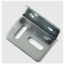 METAL 90° ANGLED CORNER FIXING  BRACE PLATE BRACKET HOLED BAR STRIP