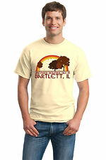 ANOTHER BEAUTIFUL DAY IN BARTLETT, IL Retro Adult Unisex T-shirt. Illinois City