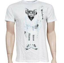 RVCA KUNG FURIE TEE (WHITE)
