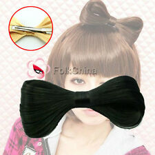 Synthetic Fake Hair Bow Clip Lady Gaga Hair Accessories New HCT-F