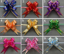 PULL BOWS 10 PACK PRESENT BOW, WEDDINGS, BIRTHDAYS SPECIAL OCCASION BOW