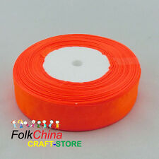 Flame Organza Ribbons 50Yds/Roll Sew 10mm,12mm,15mm,18mm,24mm,38mm,50mm #23