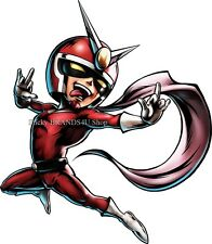 Choose size: Viewtiful Joe WALL STICKER Character art Ultimate Marvel Capcom 3