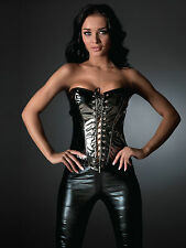 Ann Summers ~ Roxy ~ Black Top ~ Sexy & Seductive ~ Lace Up Front Corset Top