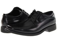 Kenneth Cole Mens Wet N Wire Black Lace-Up Casual Oxfords Dress Shoes