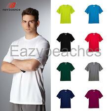 New Balance Mens S-L XL 2XL 3XL Short Sleeve Athletic Workout T-Shirt Sport Tees