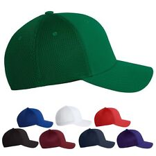 FLEXFIT 6533 Ultrafiber Cap with Air Mesh Sides Fitted Trucker Hat SIZE S/M L/XL