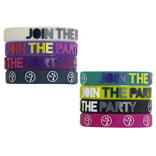 Zumba Fitness ~ JOY RUBBER BRACELETS ~ 8 Colors NEW NWT ~ Sold Individually ~