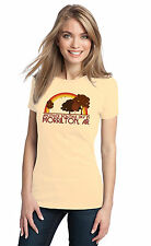 ANOTHER BEAUTIFUL DAY IN MORRILTON, AR Retro Adult Ladies' T-shirt. Arkansas Ci