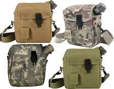 Military Supplies MOLLE Bladder 2 Quart Camping Canteen Cover Pouch & Strap