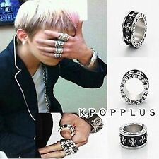 BIGBANG BIG BANG G-DRAGON - Black Peace Hearts Ring [BB108]