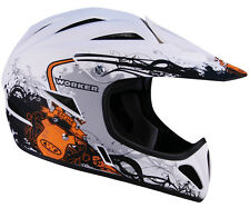 Worker Fahrradhelm BMX 3RIDE Freeride, Downhillhelm versch. Designs NEU