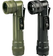 Military Angle Head C-Cell Tactical Combat Flashlight