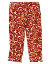GYMBOREE BUTTERFLY GIRL FLORAL PRINT LEGGINGS 3 6 12 18 24 2T 3T NWT