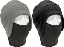 Convertible Polar Fleece Winter Beanie Cap Hat & Face Mask