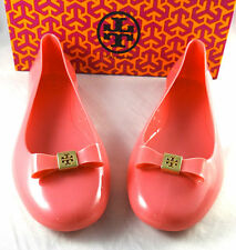 Tory Burch Jelly Ballet With Bow Flats shoes 5 to 11