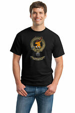 CLAN DAVIDSON Adult Unisex T-shirt. Scottish Family Crest, Scotland Coat of Arms
