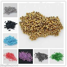 Jewelry Making 1pound  2mm Czech Glass Seed beads free shipping you pick color