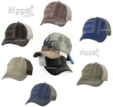 Sportsman Bounty Dirty Washed Mesh Cap 3150 Trucker Baseball Hat