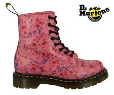 DR. DOC MARTENS 1460 BOOT - ACID PINK LITTLE FLOWERS - SKU 11821653 - NEW STYLE