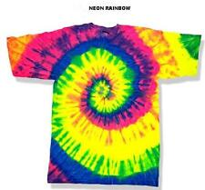 Bicydelic Bicycle Bike Safety Neon Fluorescent Tie Dye High Visibility Shirt KID