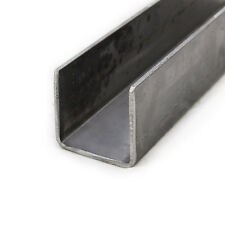 Mild Steel Pressed Steel Channel | 100mm x 50mm | 3mm Thick | 0.5m - 6m Lengths