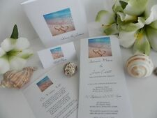 Beach Wedding Invitations - Tropical Wedding Invites - Sample Invites ONLY $1