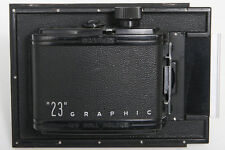 "Graflex ""23"" Graphic Roll Film Holder - 4x5 to 6x9 cm"