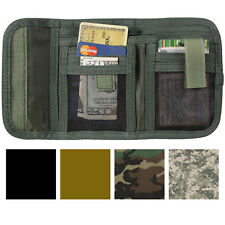 Camouflage Deluxe Tri-Fold ID Commando Wallet