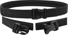 Black Triple Retention Tactical Law Enforcement Duty Belt