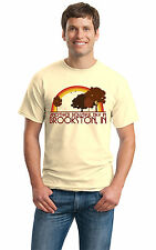 ANOTHER BEAUTIFUL DAY IN BROOKSTON, IN Retro Adult Unisex T-shirt. Indiana City