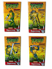 SUPERMAG - Leonardo, Raphael, Michelangelo, Donatello - TEENAGE TURTLES - TMNT